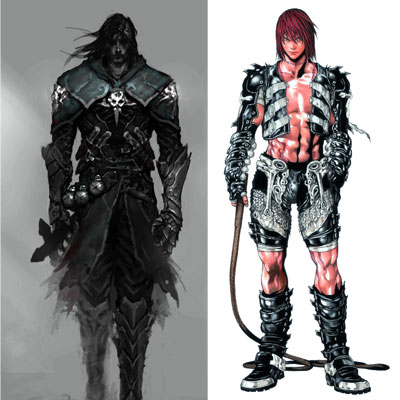 Castlevania Art comparison
