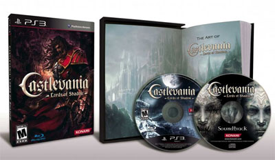 Castlevania Lords of Shadow Special Edition w Soundtrack Artbook