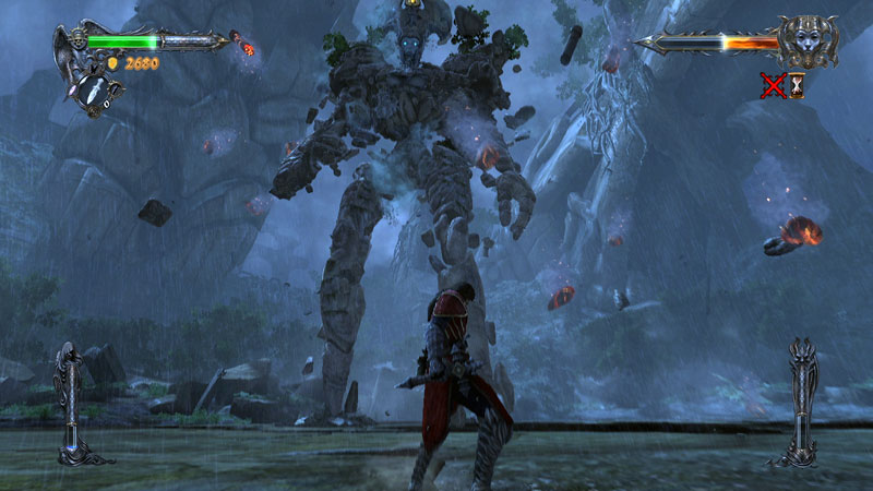 Castlevania Lords of Shadow Titan fight