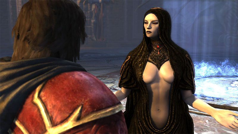 Carmilla Castlevania Lords of Shadow vampire