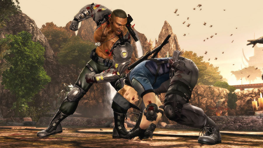 Mortal Kombat 9 Jax Stryker