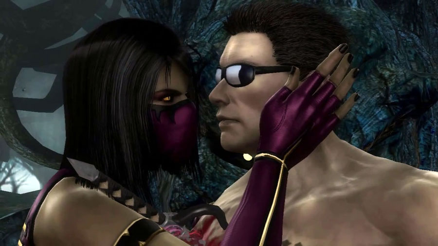 Mortal Kombat 9 2011 Mileena Johnny Cage