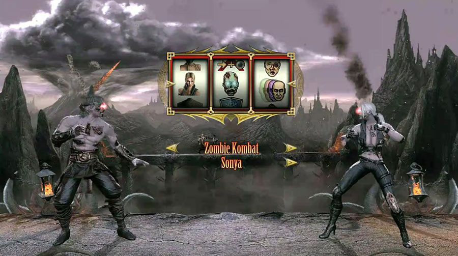 Mortal Kombat Test Your Luck Zombie Kombat