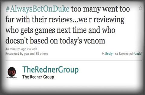 The Redner Group Duke Nukem Forever review