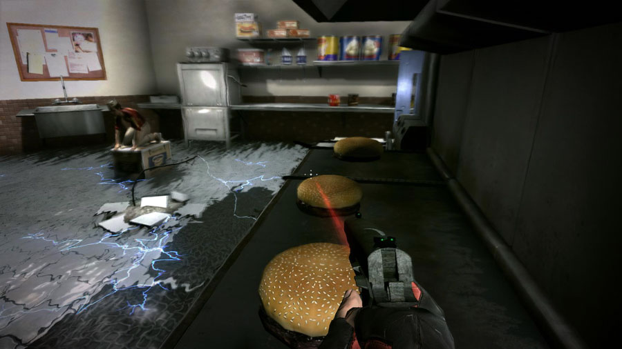 duke nukem forever fast food level duke burger