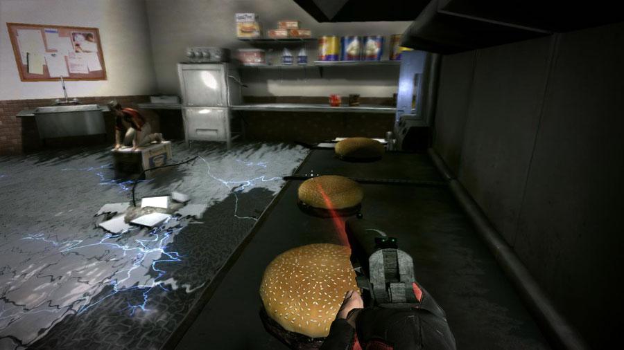 duke nukem forever fast food level duke burger