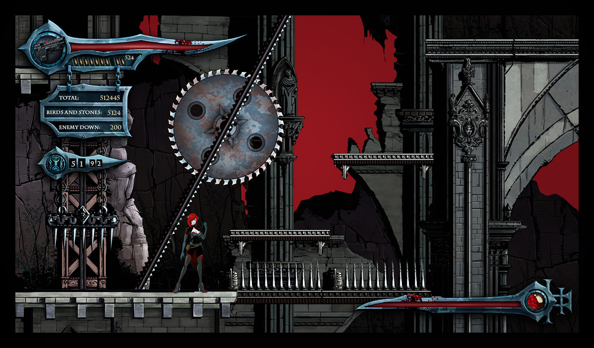 Bloodrayne Betrayal Level Design Graphics