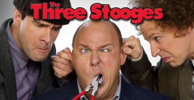 the three stooges movie review cheshire cat studios