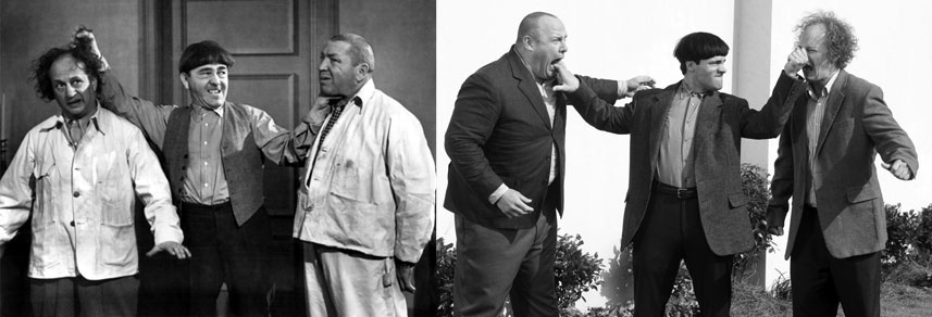 three stooges comparison classic movie
