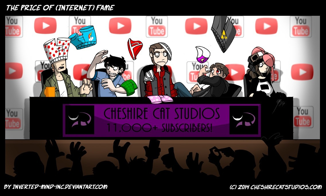 the price of internet fame youtube comic