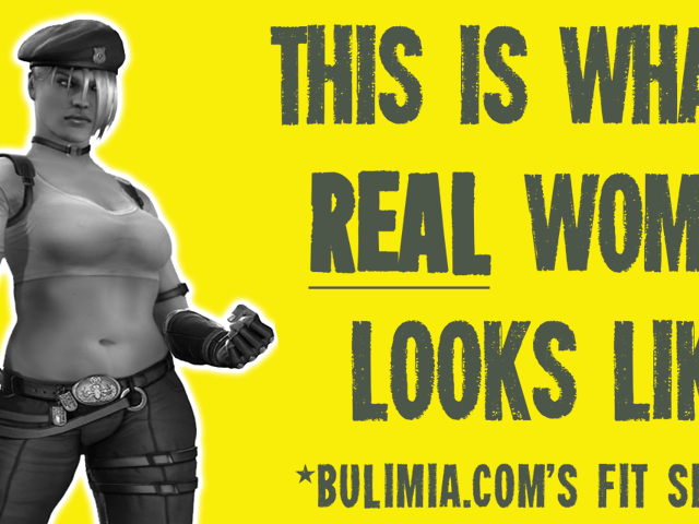 Fit-shaming in video games bulimia.com